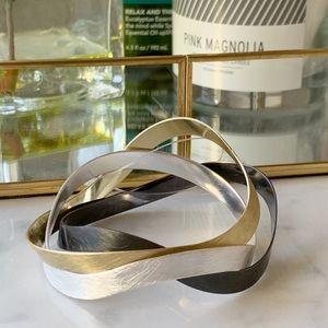 Jewelry - Tri-color Bangle Set